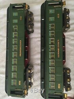 Lionel Standard Gauge State Car Set 412, 413, 414 & 416 c. 1929-35 Ex