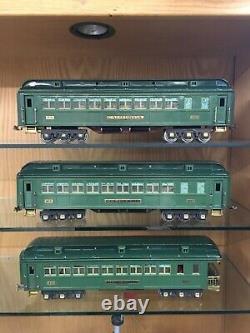 Lionel Standard Gauge State Car Set 412, 413, & 416 c. 1929-35 Ex