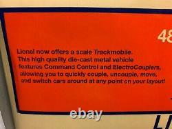 Lionel Tmcc Csx Trackmobile Switcher 6-28448! Legacy O Gauge Train Speeder
