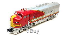 Lionel Trains 6-24529 6-24516 Santa Fe F3 ABA Diesel Set withTMCC, O Gauge