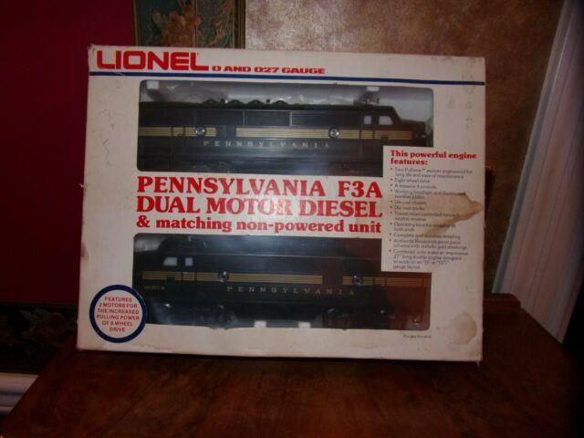Lionel Trains Vintage Lionel F- 3 Diesel Engine Set Lionel O Gauge