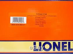 Lionel Union Pacific Challenger 21' Passenger Car 4-pack O Gauge Up 6-85360 New