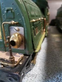 Lionel prewar Standard gauge two-tone green state set All original