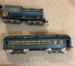 Lionel prewar standard gauge 400e Blue Comet Series