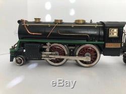 Lionel vintage prewar Standard Gauge 384e withtender