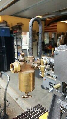 Live Steam Engine Oiler Whistle Gauge Off Grid Live Steam Watch video