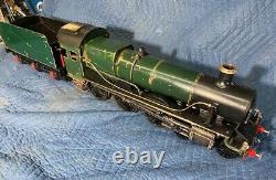 Live steam Locomotive 3 1/2 gauge. Great Western. Custom made in England