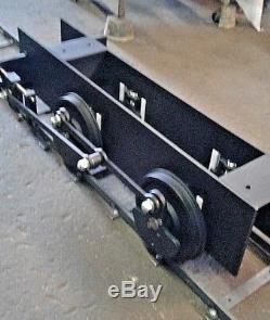 Live steam style locomotive Chassis 7 1/2 gauge