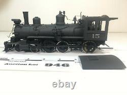 Lot946 PFM D&RGW T-12 4-6-0 Narrow Gauge Brass On3 Scale 2 Rail