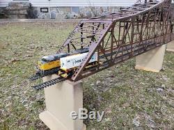 M1910' Bridge HO gauge, assembled, deco with piers Sale! MAO @ $400.00