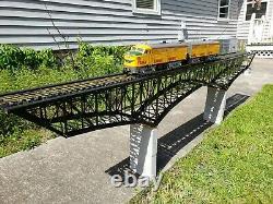 M1920', Deck Bridge -Assembled & Decorated G Gauge Sale! MAO @ $900.00