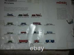 MARKLIN MAXI 1 Gauge 0-6-0 Tank TRAIN SET MADE IN GERMANY(DAMAGED BOX NO/COVER)