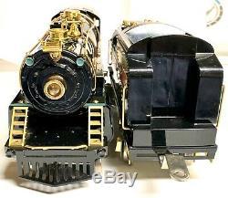 MTH American Flyer 4696 Brass Piper Standard Gauge Steam Engine PS2 Wide Gauge