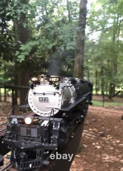 MTH Clinchfield Railking 1 gauge 4-6-6-4 Challenger preowned. Tested Runs Great