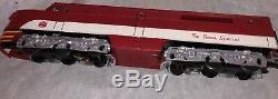 MTH MKT O Gauge Texas Special ABA A-B-A Locomotive Set 20-2194-1 Alco Pa