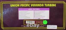 MTH O Gauge Union Pacific #61 Veranda Turbine 3-Rail with Tender #20-2185-1U