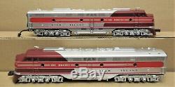 MTH Premier 20-2169-1 Rock Island EMD E8 A-A Diesel Engine Set withPS1 O-Gauge LN