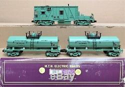 MTH Premier 20-2251-1 UP/Union Pacific 3-Car Weed Sprayer Set withPS2 O-Gauge USED