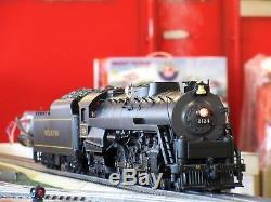 MTH Premier 20-3130-1 Reading 4-8-4 T-1 Northern Steam Engine withPS2 O-Gauge USED