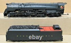 MTH Premier 20-3428-1 PRR 4-4-6-4 Q2 Duplex Steam Engine PS2 O-Gauge 3-Rail LN