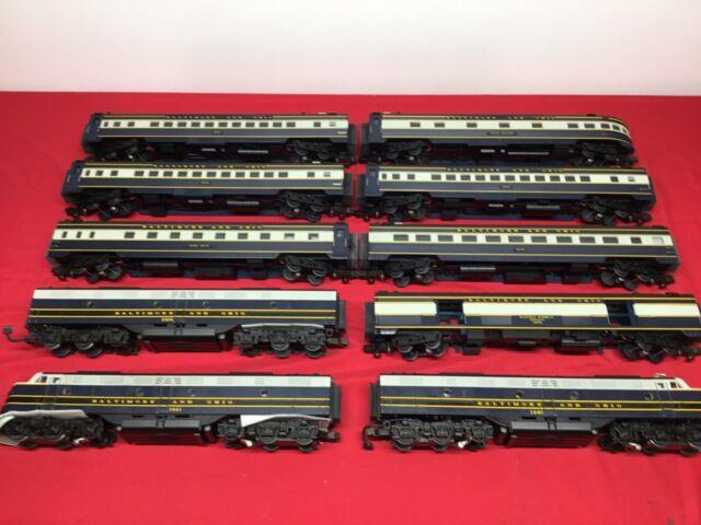 Mth Premier B&o Passenger O Gauge Train Set