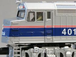 MTH RAIL KING AMTRAK F40PH DIESEL ENGINE 401 PROTO 3 O GAUGE train 30-4246-1-E