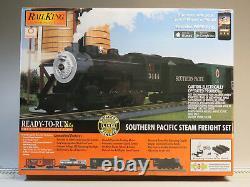 MTH RAIL KING SP STEAM FREIGHT TRAIN SET PROTO 3 O GAUGE DCS Explorer 30-4245-1
