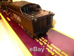 MTH RK Santa-Fe Mohawk die-cast steam engine & whistle tender-O gauge-ln w box