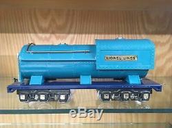 MTH Reproduction of Lionel Standard Gauge Blue Comet 400E Loco & Tender