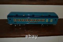 MTH Standard Gauge 400E Blue Comet Steam Locomotive and 4 Passenger Cars
