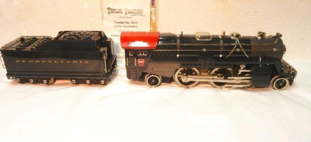 Mth Tinplate Traditions #10-1256-1 392e Standard Gauge Loco W Protosounds 2.0&bx