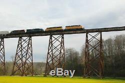 M 1901 2 Plate Girder Deck Trestle. O gauge two (2) Tracks @ 8 ft long