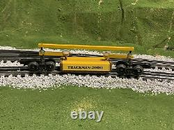 M. O. W. Equipment Co. Trackman O-2000 Track Cleaning Car Lionel Mth O Gauge