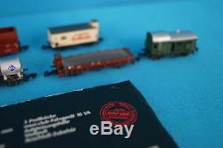 Marklin DB 81860 Train Set 25 Jahre Märklin Z gauge Mini club