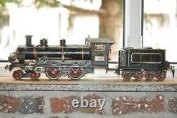 Märklin FE 1022 Spur 2 gauge 2 Doppeluhrwerkslok KAISERZUGLOK von 1907 ORIGINAL