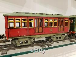 Marklin Gauge 1 Paris Metro 3-Piece Set from 1906, Germany Restored