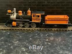Marklin spur z scale/gauge. D & RG Mogul Steam Locomotive & Tender. Rare