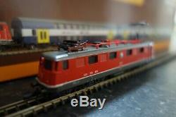 Marklin spur z scale/gauge. SBB Zurich Commuter Train Set. Very Rare