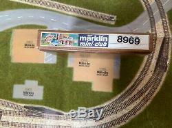 Marklin spur z scale/gauge Toporama ++ 8 Correct Original Marklin z Kits