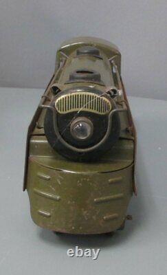 Marx 500 Vintage O Gauge Army Supply Train Steam Set