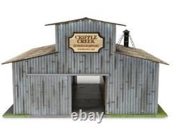 Menards Cripple Creek Lumber Yard Building Accessory! O Gauge Scale Warehouse