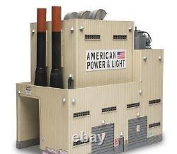 Menards O Gauge American Power & Light Building B