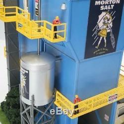 Menards O Gauge Morton Salt Factory Model for use with Lionel, etc. Train Sets