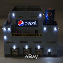 Menards O Gauge Pepsi Bottling Plant train building store factory