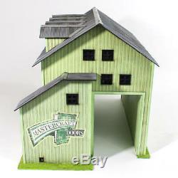 Menards O Gauge Vetter Sash & Door Factory building