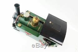 Merlin Loco Works 16MM Gauge 1 Live Steam 0 6 0T with controller Mole 1