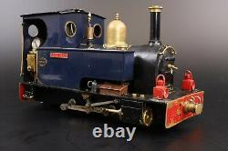 Merlin Loco Works 16mm (32mm Gauge) Live Steam'Lily May' with RC