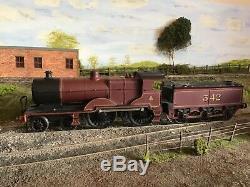 Midland Railways 4-4-0 O Gauge Kit Built 2 Rail Electric