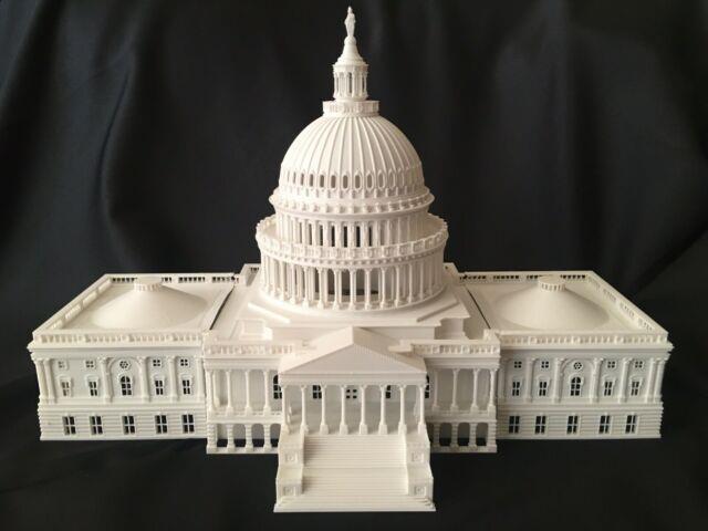 Miniature Washington Dc Collection #1 Capitol Hill Building Dome Ho Scale Gauge