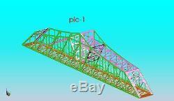 Model 1910' bridge, KIT Sale MAO $300.00 O Gauge single Track IN STOCK